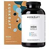 Kurkraft MSM (365 Kapseln) - Einführung - 1600mg Methylsulfonylmethan (MSM) - ohne Zusatzstoffe in der Kapsel -...