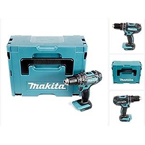 Makita DHP 482 ZJ Akku Schlagbohrschrauber 18V 62Nm im Makpac ohne Akku/Ladegerät