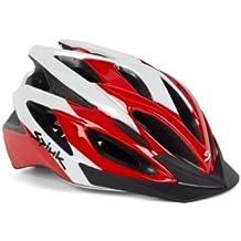 Spiuk Tamera - Casco de ciclismo, color rojo / blanco, talla 58 - 62