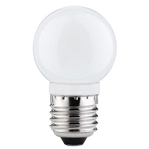 10 x Paulmann LED Leuchtmittel Tropfen 2,5W = 20W E27 opal warmweiß 2700K 360°