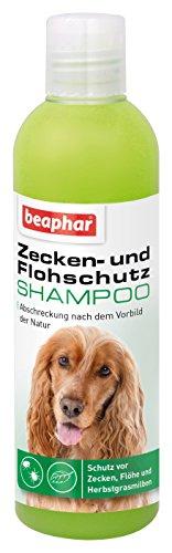 beaphar Zecken- & Flohschutz Shampoo | Zeckenschutz für Hunde und Katzen ab 12 Wochen | Flohmittel als Shampoo | Anti-Zecken-Shampoo | 250 ml Flasche