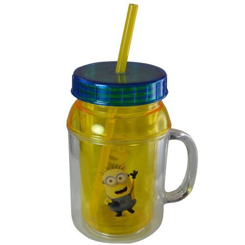 despicable-me-minions-kids-12oz-canning-jar-double-walled-lid-straw-tumbler-by-despicable-me