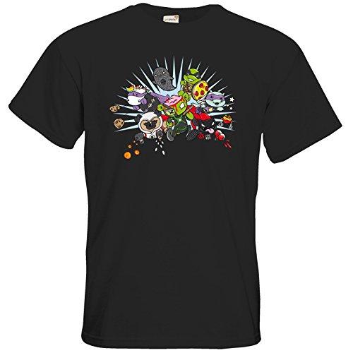 getshirts - Crapwaer - T-Shirt - Superheroes Black
