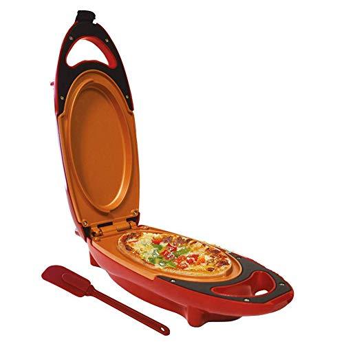 Omelette Maker - Sartén eléctrica con doble placa antiadherente, ideal para huevos fritos, frittatas, paninis, pizza