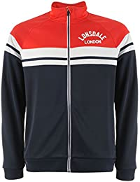 Lonsdale Herren Retro Trainingsjacke