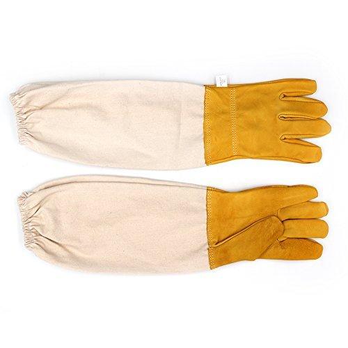 guanti apicoltura Farm & Ranch apicoltura guanti guanti protettivi con maniche ventilato grande perfetto apicoltore guanti