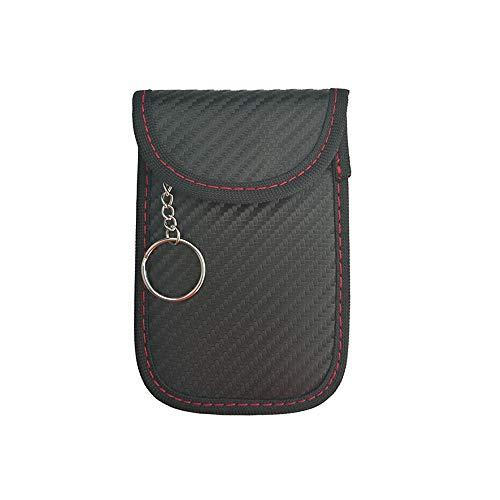 GoodFaith Schlüsseltasche Brieftasche Kohlefaser Muster RFID Elektromagnetismus Schild Schlüsseletui Autoschlüssel Signal Block Diebstahlsicherung Tasche