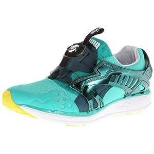 411SyUZAcpL. SS300  - PUMA Men's Future Disc Lite Tech'D Out Sneaker, Fluo Teal, 12 M US