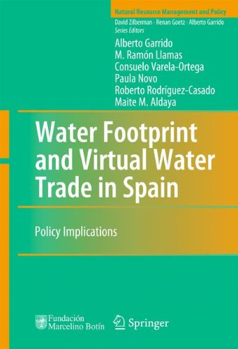 Water Footprint and Virtual Water Trade in Spain: Policy Implications (Natural Resource Management and Policy) por Alberto Garrido