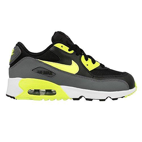 Nike 833420-006, Chaussures Garçon Gris-Jaune-Noir