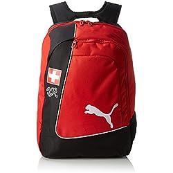 PUMA Backpack Mochila country de licencia oficial Rojo Red/White/Swiss Talla:34 x 19 x 48 cm, 31 Liter