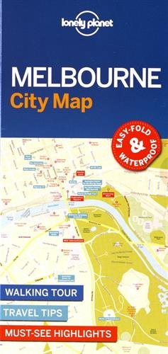lonely-planet-melbourne-city-map-travel-guide