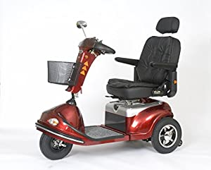 Roma Medical (Shoprider) Torino Class 3 Mobility Scooter - Red