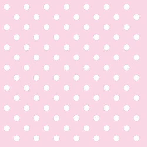 rose et blanc pois 3 épaisseurs 20 Papier Serviettes 13 \\