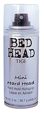 Bed Head Hard Head Strong Hold Hairspray Mini 101ml produced by TIGI Linea - quick delivery from UK.