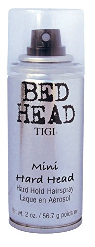 Bed Head Parfum (Tigi BED HEAD Hair Spray Hard Head Mini, 1er Pack (1 x 101 ml))