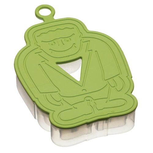 (Kitchen Craft Let's Make Halloween Monster Three Dimensional Cookie Cutter, Silicone)