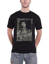 David Bowie T Shirt Ziggy Stardust Live Profile Logo officiel Homme nouveau Noir