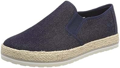 Timberland Damen Elvissa Sea Canvas Slip on Sneaker, Blau (Denim 484), 39,5 EU