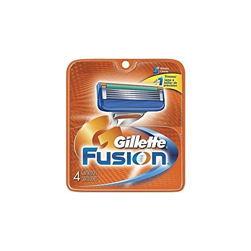 Gillette Fusion Rasierklingen, 4 Stück