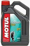 MOTUL 101728antifricción Outboard Tech 2T, 5L