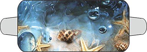 Thermo-Scheibenschutz (für die Frontscheibe) Motiv: Seesterne ~~~~~ schneller Versand innerhalb 24 Stunden ~~~~~