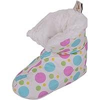 Absolute Footwear Ladies/Womens Slip On Slippers/Bootees/Indoor Shoes Duvet Style