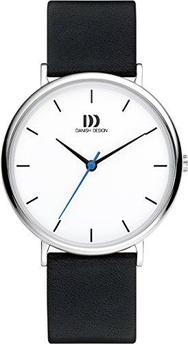 Danish Design Homme Analogique Classique Quartz Montre avec Bracelet en Cuir DZ120658