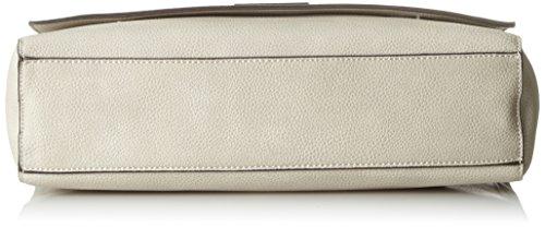 Tamaris Damen Milla Crossbody Bag L Umhängetasche, 9x28x30 cm Grau (Light Grey)