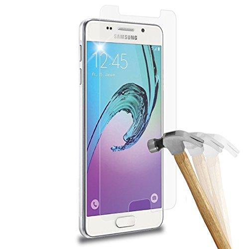 wortek Premium Schutzfolie Samsung Galaxy A5 (Modell 2015 5,2') Panzerglas 9H Schutzglas Echt Panzer Display Glas 0,3mm dünn