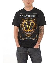 Black Veil brides Class Logo BVB Andy New Official mens Black T Shirt All Sizes