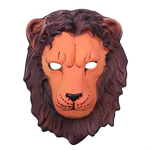 lloween Maske Cartoon Tier Gesicht Cover Ball Party Kit (Lion ()