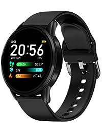 LIGE Reloj Inteligente,Smartwatch IP68 Impermeable Podómetro/Presión Arterial/Monitores Sueño Hombre Deportivo Reloj para Teléfonos Android iOS