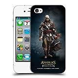 Head Case Designs Offizielle Assassin's Creed Edward Kenway Schwarze Fahne Darsteller Ruckseite Hülle für iPhone 4 / iPhone 4S