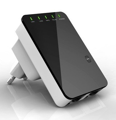 300 Mbit Wireless-N Mini Router Wifi Repeater