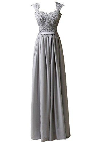 Faironly Damen Kleid Gr. XX-Large, silber