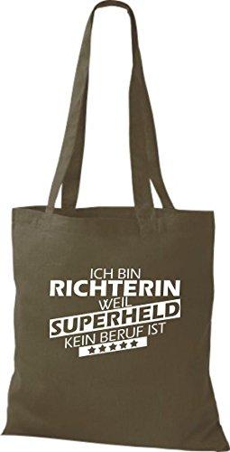 Tote Bag Shirtstown Sono Un Giudice Perché Il Supereroe Non È Una Professione Doliva