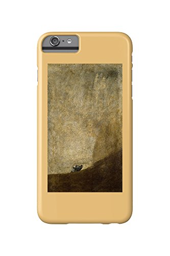 The Dog (Artist: Francisco de Goya) c. 1820 - Masterpiece Classic (iPhone 6 Plus Cell Phone Case, Slim Barely There) (Artist Dog)