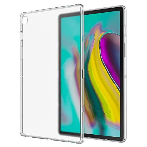 MoKo Hülle Passend für Samsung Galaxy Tab S5e 2019, Soft Flexible TPU Kristall Klar Schale Schutzhülle Stoßdämpfung Crystal Case Durchsichtig für Galaxy Tab S5e SM-T720/SM-T725 2019 - Matte Clear -