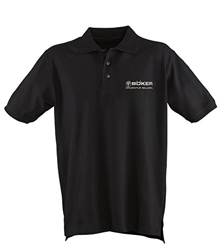 BOKER Tree Brand 5.11 Premium Black Cotton Small Polo Shirt