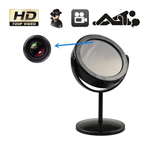 Características: Cámara espía camuflada como un espejo, con un mini DVR incorporado, esta cámara oculta fue diseñada para video-vigilancia encubierta de alta calidad.Diseño con ranura para tarjeta TF externa.La fecha y la hora se pueden cambiar antes...