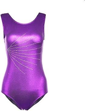 Body da donna per body dance donna in nylon e lycra
