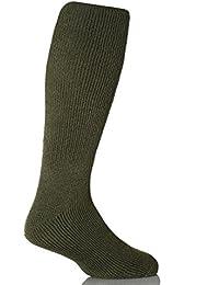 Pour 1 Paire d'hiver thermiques longues Heat Holders Chaussettes :  39–45–Vert forêt