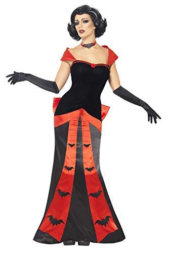 11da731a8031 SMIFFYS Smiffy's - Costume per Travestimento da Vampiro, incl. Vestito  Lungo, Guanti e