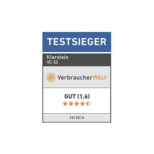 Klarstein IVC-50 • Industriesauger • Nasssauger • Trockensauger • 2000 W • IP X4-Schutz • Doppelradmotor • 50 Liter Edelstahl-Behälter • Schnellverschlüsse aus Metall • HEPA-Feinstofffilter • 70 cm Wasserablaufschlauch • umfangreiches Zubehör • silber-gelb - 2