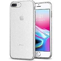 Spigen iPhone 8 Plus Hülle, iPhone 7 Plus Hülle [Liquid Crystal] Glitzer Design Soft Flex Silikon Bumper Style Handyhülle, Schutzhülle für Apple iPhone 8/7 Plus Case Cover - Crystal Quatz