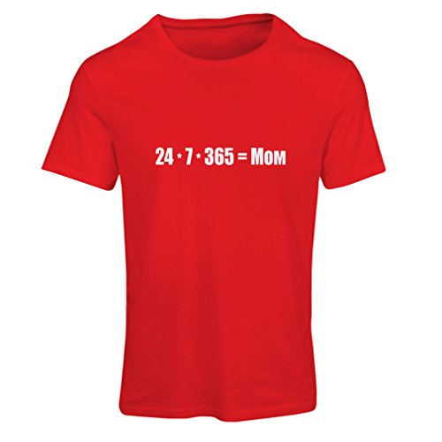 N4077F Best Mom Frauen T-Shirts (S, Rot Weiß)
