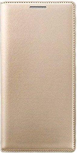 CEDO Premium Impact Resistant [1 Card Slot][Cash/Bills Slot][Anti-Slip Design][Drop Protection][Ultra Slim] Leather Flip Cover For Vivo Y51 / Y51L – GOLD