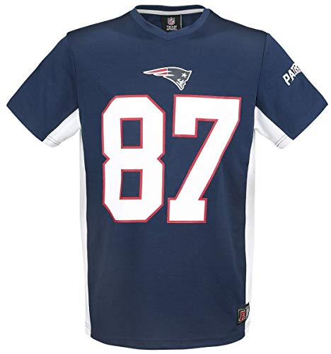 NFL New England Patriots Gronkowski #87 T-Shirt Navy XXL