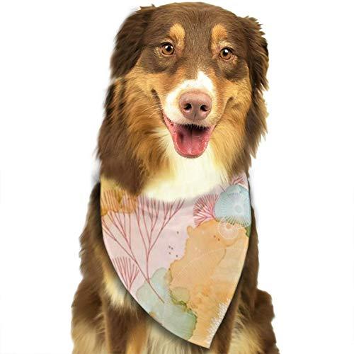 Huyotop Halstuch für Haustiere, Tinte und Gouachefarben, Bedruckt, Bedruckt, für Tintenstrahldrucker, für Hunde, Katzen, Welpen, Halstuch